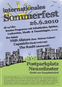 Sommerfest 26 Juni
